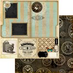 Marion Smith Designs - Nirvana Collection - 12 x 12 Double Sided Paper - Family Record