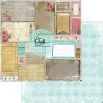 Marion Smith Designs - Garment District Collection - 12 x 12 Double Sided Paper - Remnants