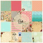 Marion Smith Designs - Mad Tea Party Collection - 6 x 6 Paper Pack