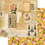 Marion Smith Designs - Motley Collection - 12 x 12 Double Sided Paper - Not Too Shabby