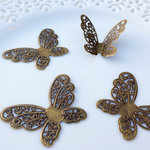 Marion Smith Designs - Junque and Gems Collection - Filigree Butterflies