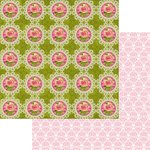 Marion Smith Designs - Never Grow Up Collection - 12 x 12 Double Sided Paper - In The Garden