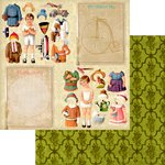 Marion Smith Designs - Never Grow Up Collection - 12 x 12 Double Sided Paper - Nonsense