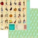 Marion Smith Designs - Never Grow Up Collection - 12 x 12 Double Sided Paper - Wild and Free
