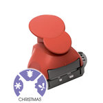 Marvy Uchida - Clever Lever Craft Punch - Tri-Corner - 3 in 1 - Christmas