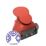 Marvy Uchida - Clever Lever Craft Punch - Tri-Corner - 3 in 1 - Flowers