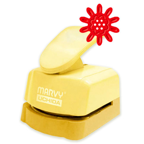 Marvy Uchida - Clever Lever Craft Punch - Silhouette and Embossing - Daisy - 1.5 Inch