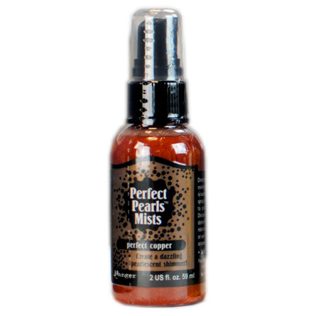 Ranger Ink - Perfect Pearls Mist - 2 Ounce Bottle - Perfect Copper