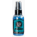 Ranger Ink - Perfect Pearls Mist - 2 Ounce Bottle - Blue Raspberry