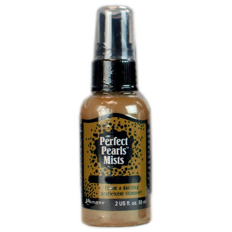Ranger Ink - Perfect Pearls Mist - 2 Ounce Bottle - Bronze