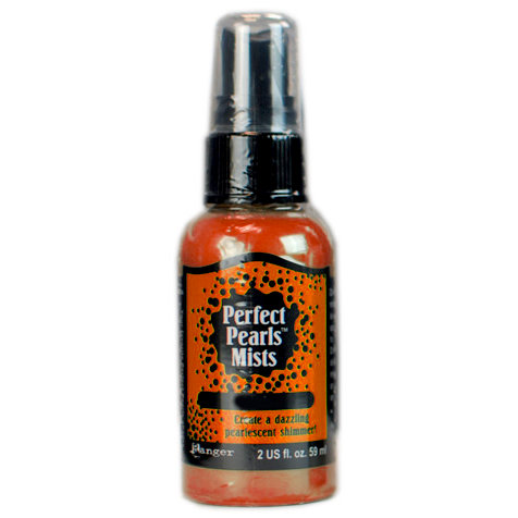 Ranger Ink - Perfect Pearls Mist - 2 Ounce Bottle - Mandarin
