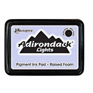 Ranger Ink - Adirondack Lights - Pigment Ink Pad - Cool Peri