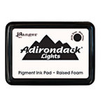 Ranger Ink - Adirondack Lights - Pigment Ink Pad - Snow Cap