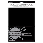 Ranger Ink - 8.5 x 11 Cardstock Pack - Black