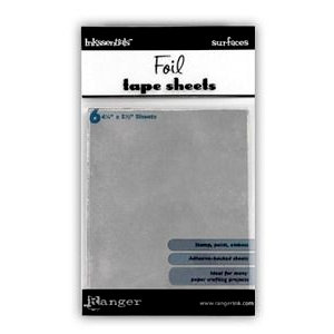 Ranger Ink - Inkssentials - Foil Tape Sheets - 4.25 x 5.5 - Metal - 6 Sheets