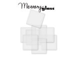 Ranger Ink - Inkssentials - Jewelry - Frosted Memory Glass - 2 x 2