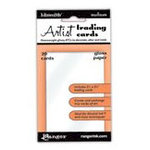 Ranger Ink - Inkssentials - Artist Trading Cards - White - Gloss