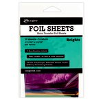 Ranger Ink - Foil Sheets - Brights - 10 Sheets