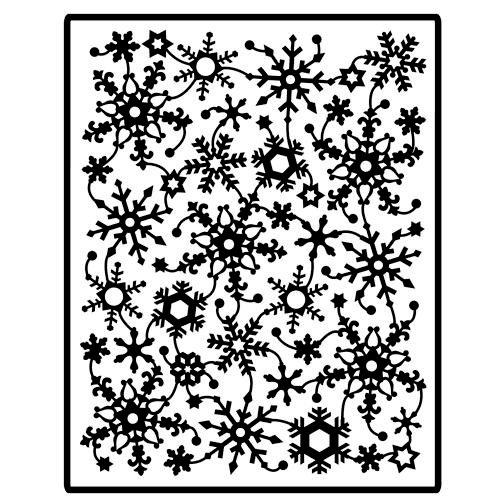 Spellbinders - Impressablilites - Embossing Templates - Snowflake