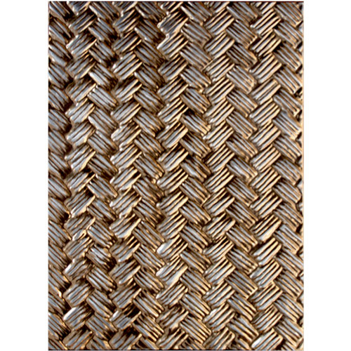 Spellbinders - M-Bossabilities Collection - Embossing Folders - 3-Dimensional - Basket Weave