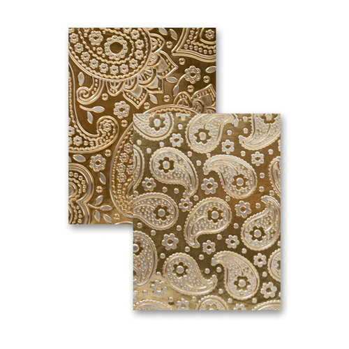 Spellbinders - M-Bossabilities Collection - Embossing Folders - Paisley