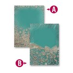 Spellbinders - M-Bossabilities Collection - Christmas - Embossing Folders - Winter Wonders