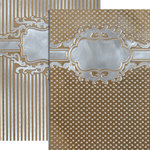Spellbinders - M-Bossabilities Collection - Embossing Folders - Framed Petite Labels