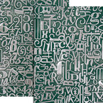 Spellbinders - M-Bossabilities Collection - Embossing Folders - Numbers and Letters