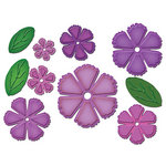 Spellbinders - Donna Salazar - Grand Shapeabilities Collection - Die Cutting and Embossing Templates - Grand Peony Creations
