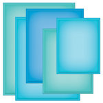 Spellbinders - Grand Nestabilities Collection - Die Cutting and Embossing Templates - Grand Rectangles