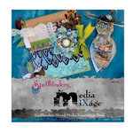 Spellbinders - Media Mixage Collection - Spellbinders Mixed Media Inspiration Idea Book