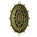 Spellbinders - Media Mixage Collection - Bezels - Ovals One - Bronze