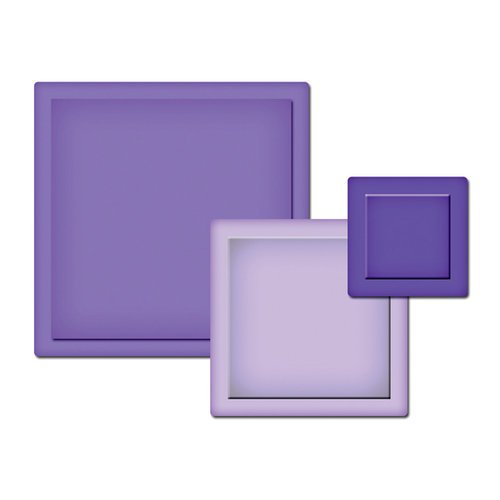 Spellbinders - Presto Punch - Die Cutting and Embossing Template - Squares