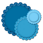 Spellbinders - Presto Punch - Die Cutting and Embossing Template - Scalloped Circles