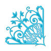 Spellbinders - Shapeabilities Collection -  D-Lites - Die Cutting and Embossing Template - Fantastic Flourish Three