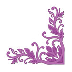 Spellbinders - Shapeabilities Collection -  D-Lites - Die Cutting and Embossing Template - Fantastic Flourish Two