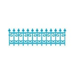 Spellbinders - Shapeabilities Collection -  D-Lites - Die Cutting and Embossing Template - Wrought Iron
