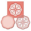 Spellbinders - Shapeabilities Collection -  D-Lites - Die Cutting and Embossing Template - Medallion One