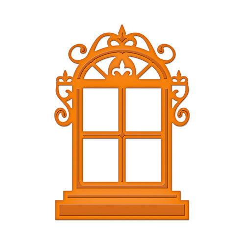 Spellbinders - Shapeabilities Collection -  D-Lites - Die Cutting and Embossing Template - Window One