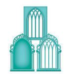 Spellbinders - Shapeabilities Collection - D-Lites - Die Cutting and Embossing Template - Window Three
