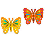 Spellbinders - Shapeabilities Collection - Die Cutting and Embossing Templates - Butterflies