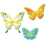 Spellbinders - Shapeabilities Collection - Die Cutting and Embossing Templates - Butterflies 2