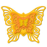 Spellbinders - Shapeabilities Collection - Die Cutting and Embossing Templates - Nested Butterflies Two