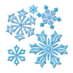 Spellbinders - Shapeabilities Collection - Christmas - Die Cutting and Embossing Templates - Create-a-Flake Three