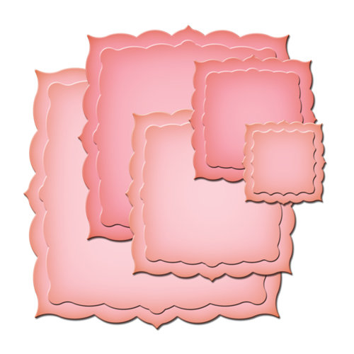 Spellbinders - Nestabilities Collection - Die Cutting and Embossing Templates - Labels Twenty-Six