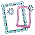 Spellbinders - Frameabilities Collection - Die Cutting and Embossing Templates - Scalloped Edge Frame, CLEARANCE