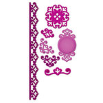 Spellbinders - Shapeabilities Collection - Die Cutting and Embossing Templates - Parisian Accents