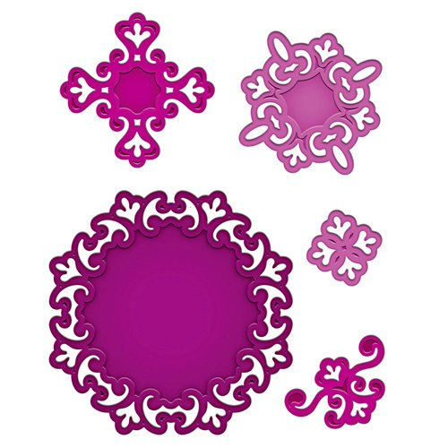 Spellbinders - Shapeabilities Collection - Die Cutting and Embossing Templates - Parisian Motifs