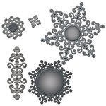 Spellbinders - Shapeabilities Collection - Die Cutting and Embossing Templates - Ironwork Motifs