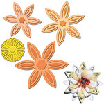 Spellbinders - Shapeabilities Collection - Die Cutting and Embossing Templates - Daisy Flower Topper
